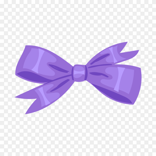 Bow bow knot or ribbon for decorating gifts illustration Premium vector PNG.png