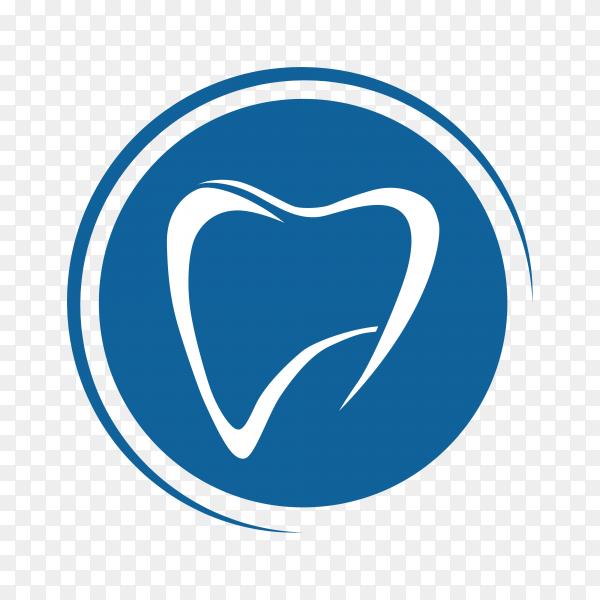 Creative Dental Concept Logo Design Template  on transparent PNG.png