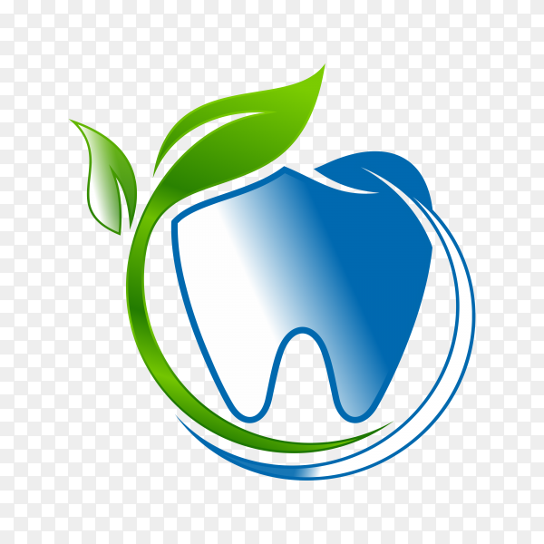 Creative Dental and Orthodontic Concept Logo Design Template on transparent PNG.png