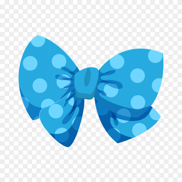 Cute decorative bow illustration on transparent background PNG.png