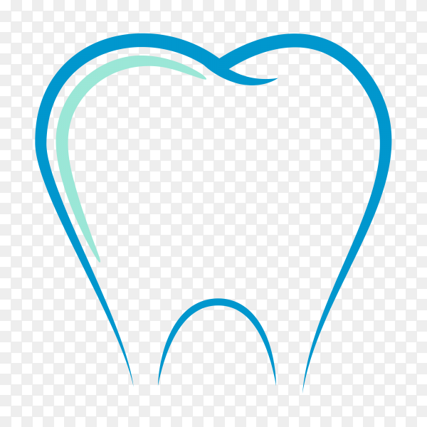 Dental Clinic logo. Dentist logo, Tooth icon premium vector PNG.png