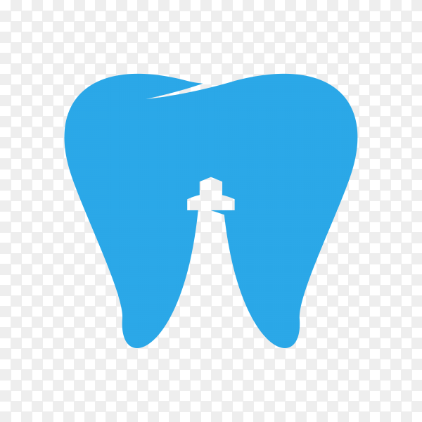 Dental Clinic logo. Dentist logo, Tooth icon on transparent background PNG.png