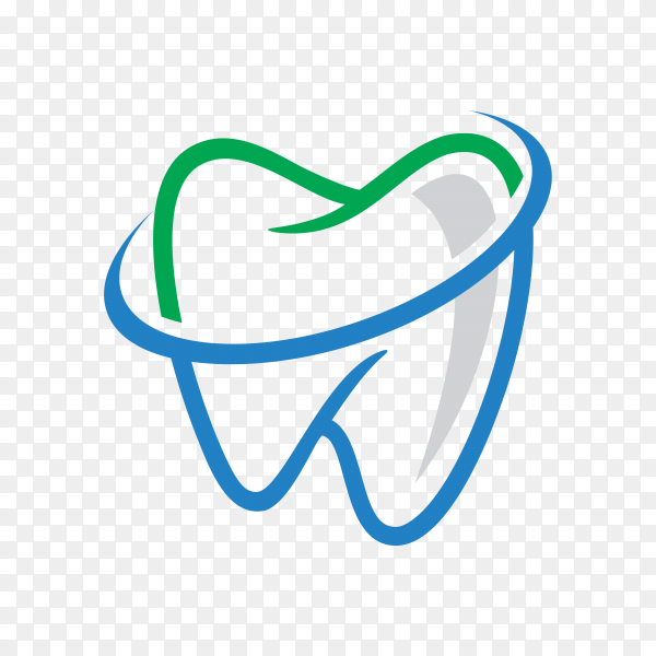 Dental Logo and Icon with Modern Design Style on transparent background PNG.png