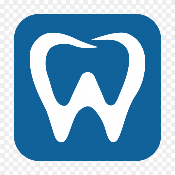 Dental care and dentistry logo deign template on transparent PNG.png