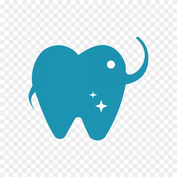 Dental care flat icon illustration design on transparent background PNG.png