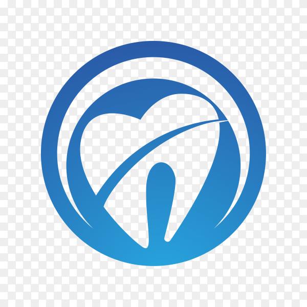 Dental care logo Template illustration icon design on transparent PNG.png
