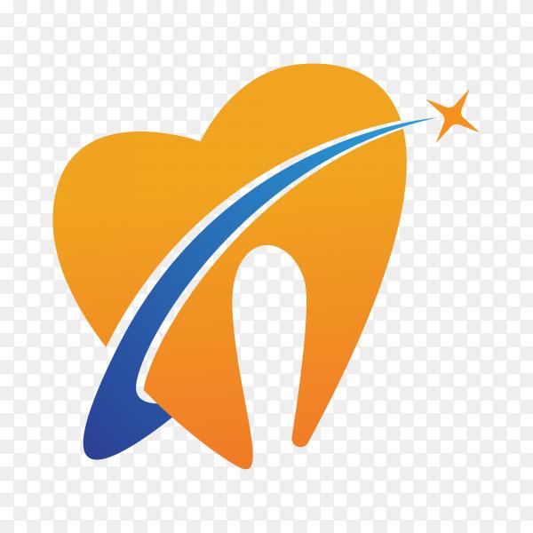 Dental care logo Template illustration icon design on transparent background PNG.png