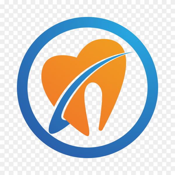 Dental care logo design element for dental clinic premium vector PNG.png