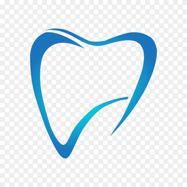 Dental care logo template illustration on transparent background PNG.png