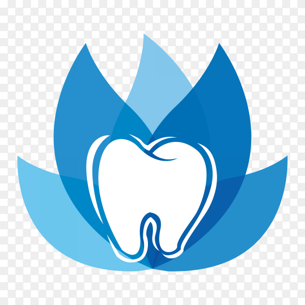 Dental clinic logo  isolated on transparent background PNG.png