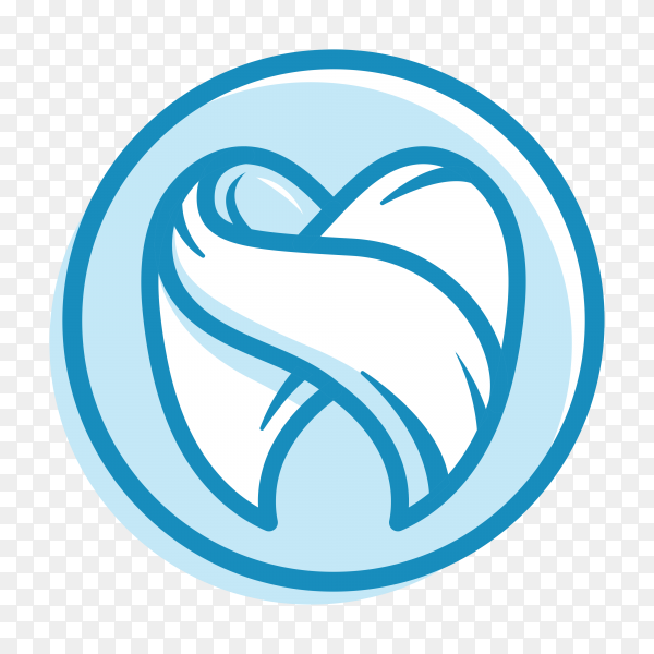 Dental clinic logo on transparent background PNG.png