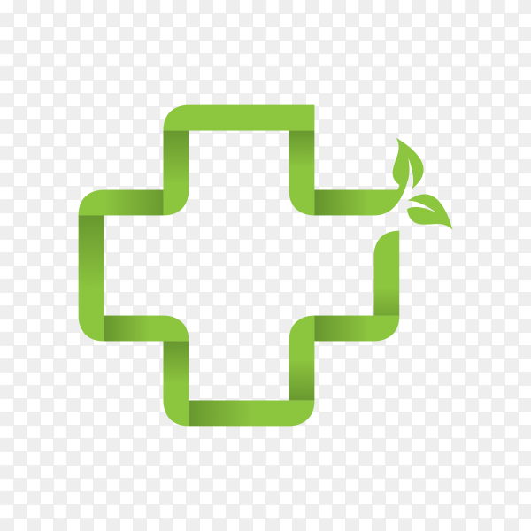 Dental health logo illustration on transparent background PNG