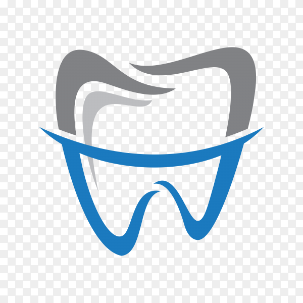 Dental health logo template on transparent PNG.png