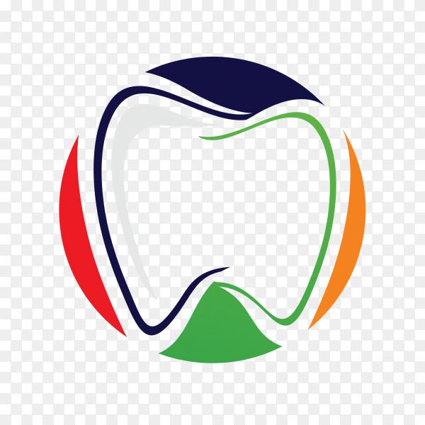 Dental health logo template premium vector PNG.png