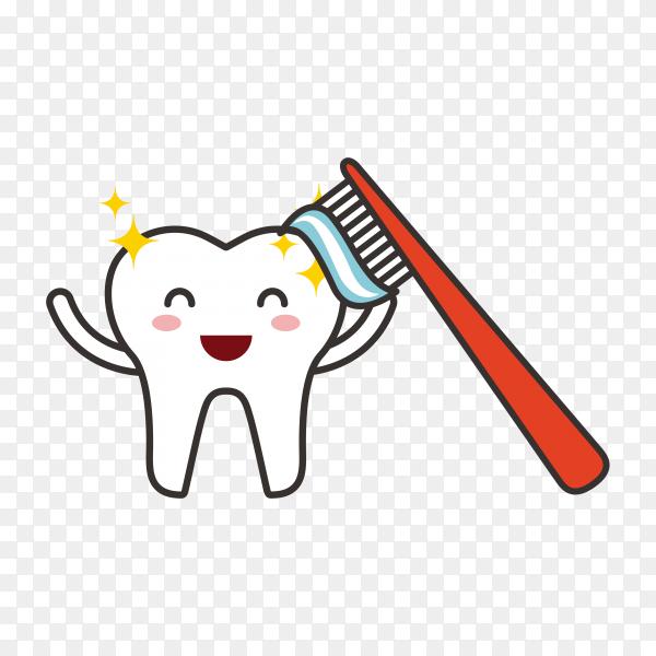Dental hygiene logo design on transparent background PNG.png