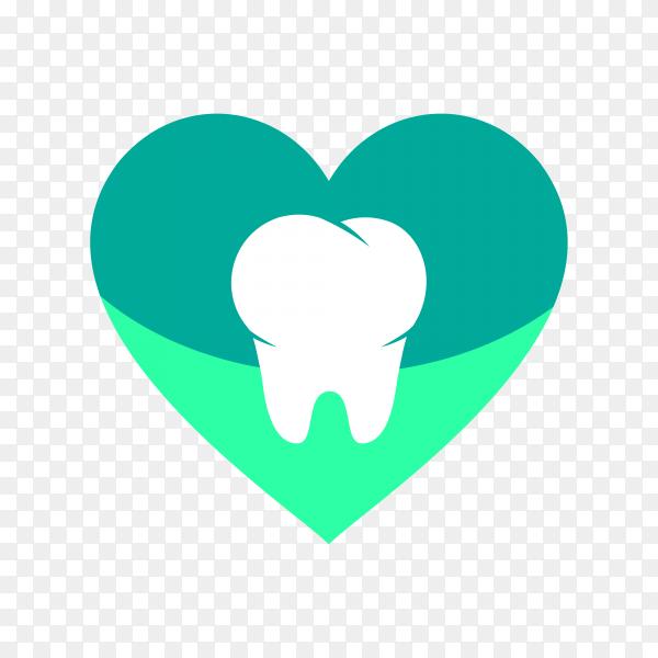 Dental logo icon illustration on transparent background PNG.png