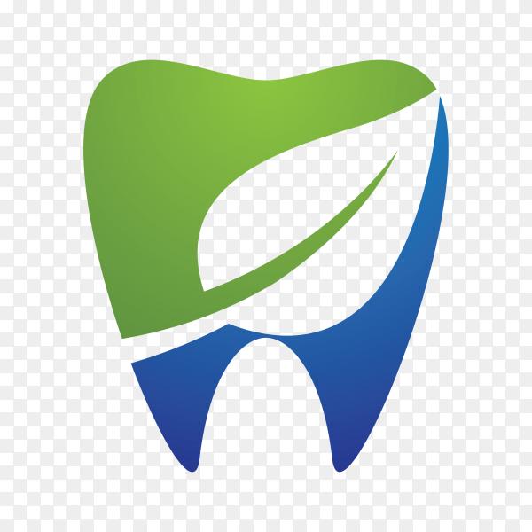Dental symbol illustration on transparent background PNG
