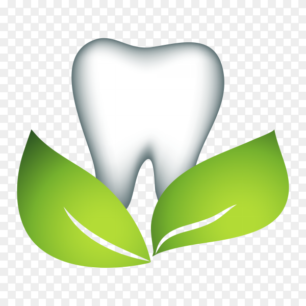 Hand drawn dental icon logo on transparent background PNG.png