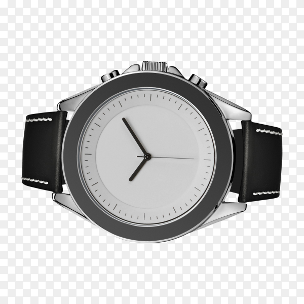 Hand watch isolated on transparent background PNG
