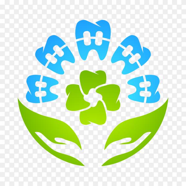 Health Dent Logo design on transparent background PNG.png