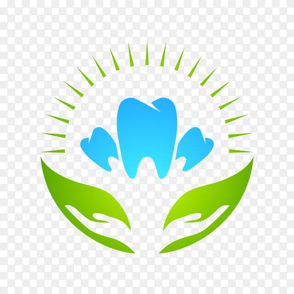 Health Dent Logo design template on transparent PNG.png