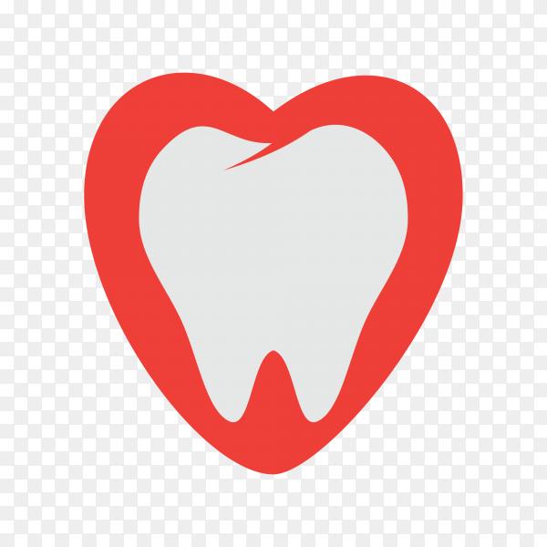 Illustration of Dental care logo on transparent background PNG.png