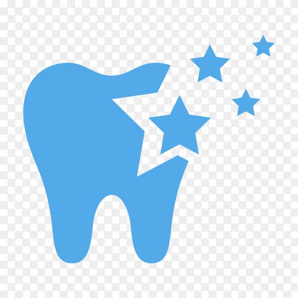 Illustration of Dental clinic logo design on transparent background PNG.png