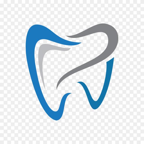 Illustration of Dental health logo template on transparent background PNG.png