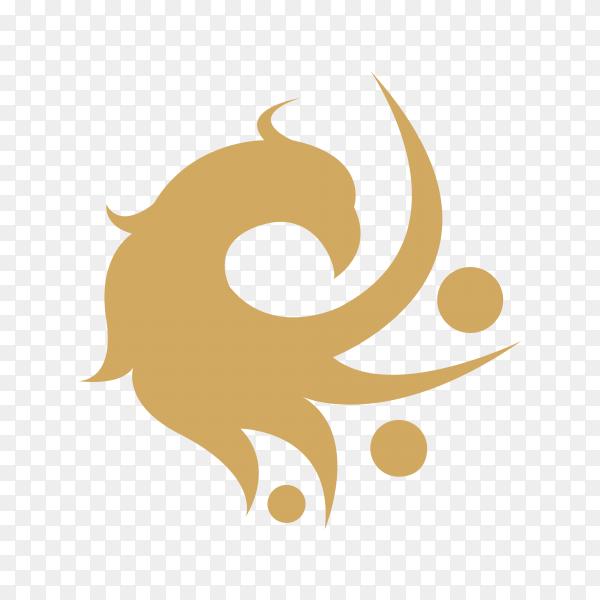 Illustration of logo design on transparent background PNG