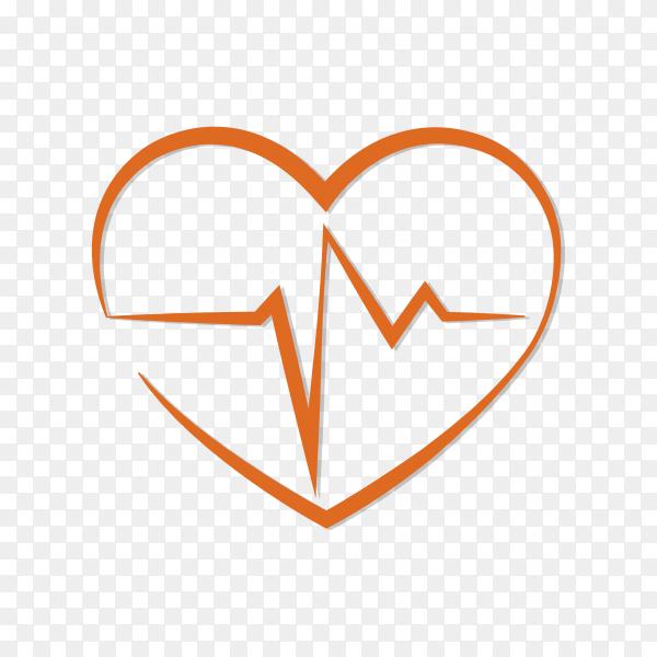 Illustration of medical logo design on transparent background PNG