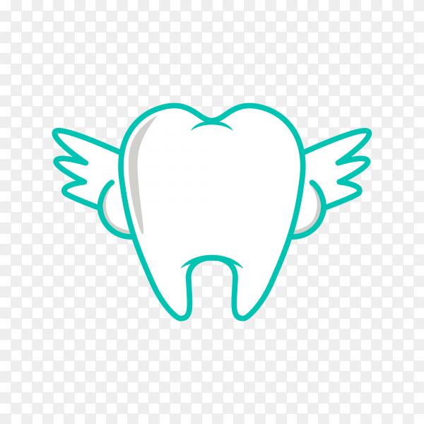 Illustration of teeth logo on transparent background PNG.png