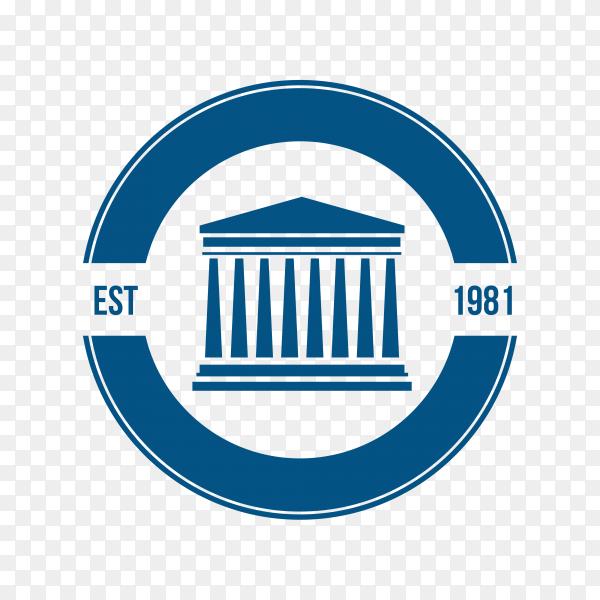 Law – justice logo design template premium vector PNG
