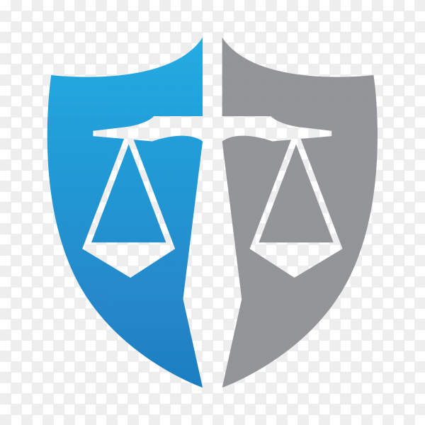 Law Firm,Law Office, Lawyer services, Vector logo template on transparent background PNG