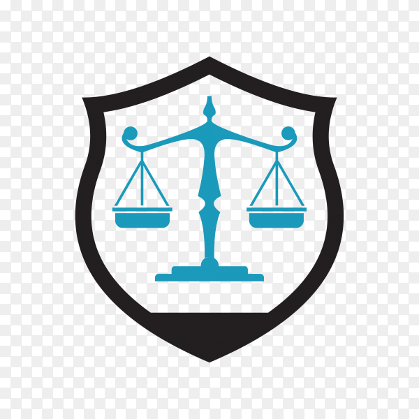 Law Firm logo and icon design premium vector PNG