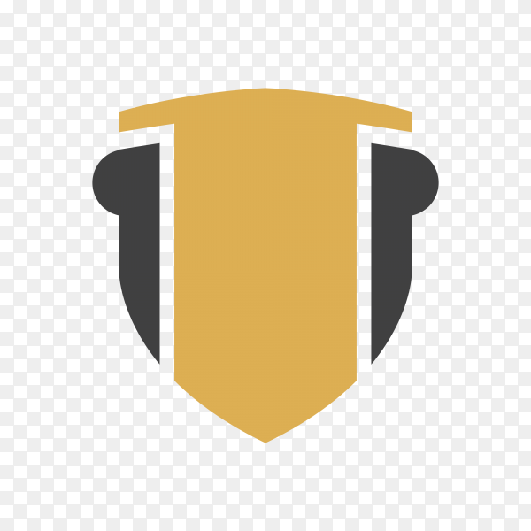 Law firm icon and symbol on transparent background PNG