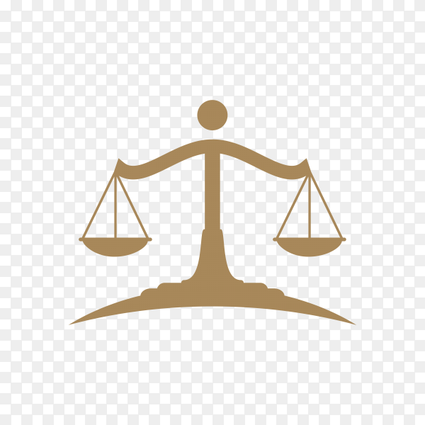 Law firm lawyer services, luxury vintage crest logo on transparent background PNG