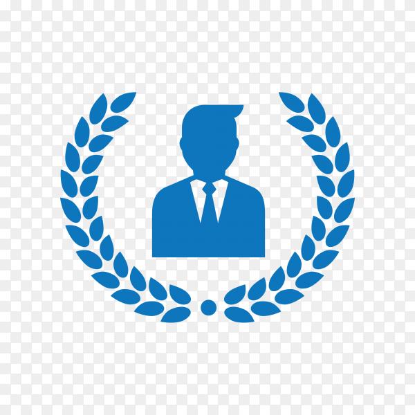 Law firm logo icon design. lawyer logo design on transparent background PNG