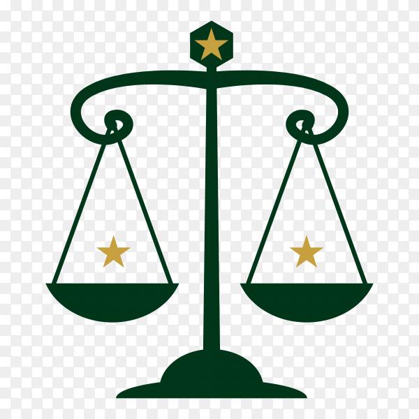 Law label icon premium vector PNG