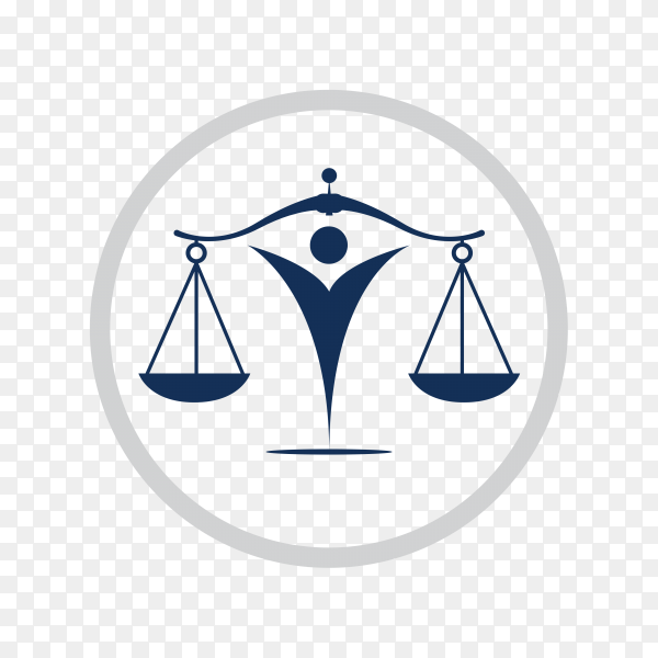 Lawyer and Law Firm Logo premium vector PNG