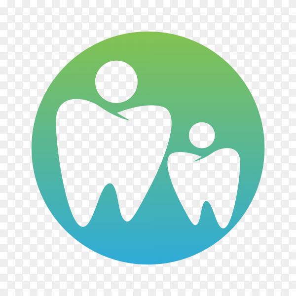 Logo for dental care on transparent background PNG.png