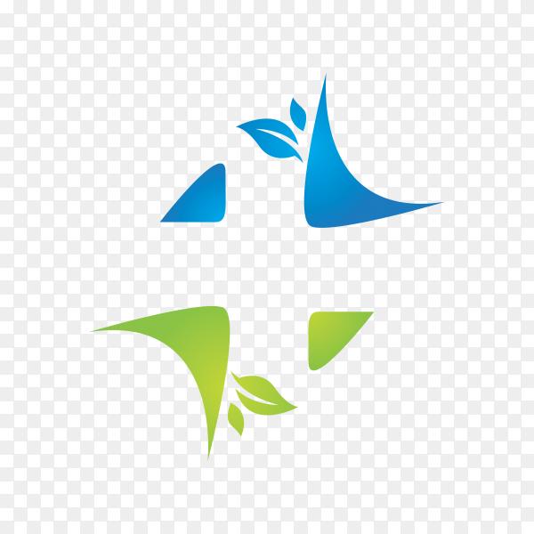 Logo of dental care on transparent background PNG