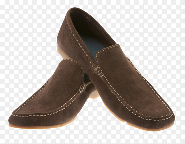 Mans boot on transparent background PNG