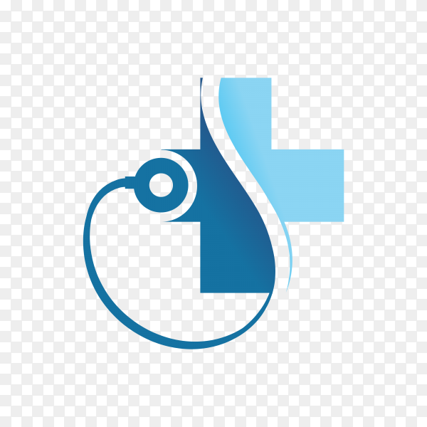 Medical Logo Design Symbol Icon on transparent background PNG