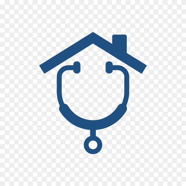 Medical logo on transparent background PNG
