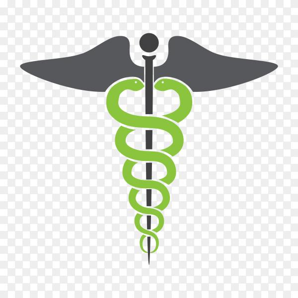 Medicine symbol icon in transparent background PNG