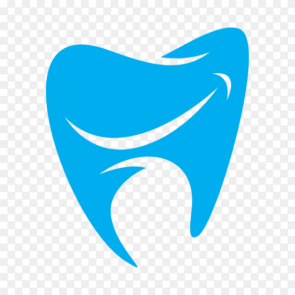 Modern and simple logo for dental clinic on transparent background PNG.png