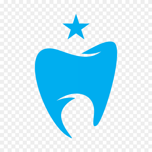 Modern and simple logo for dental clinic premium vector PNG.png