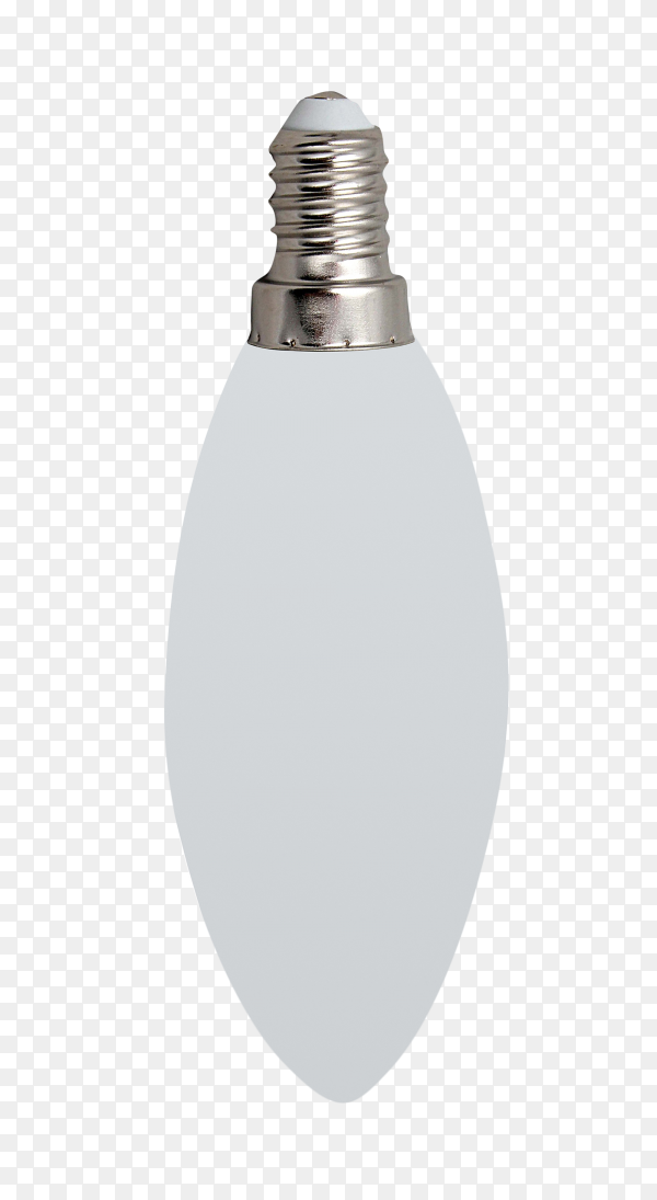 Modern led lamp isolated on transparent background PNG