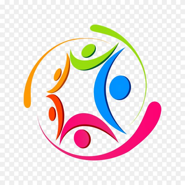 People care foundation logo on transparent background PNG