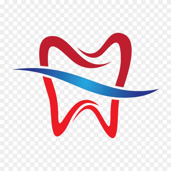 Smile Dental logo Template illustration on transparent background PNG.png